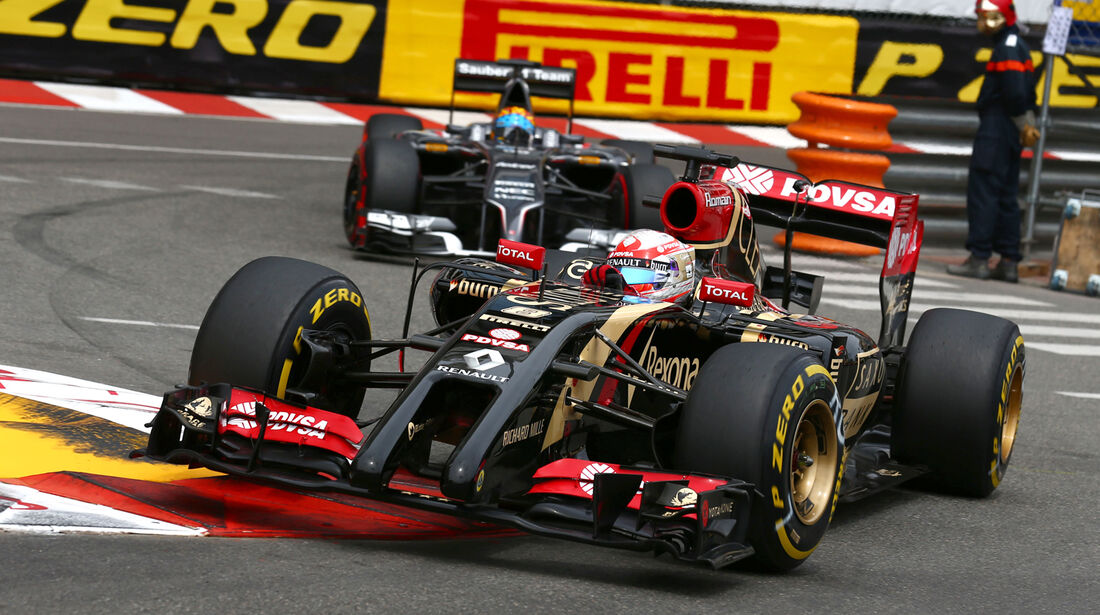 Romain Grosjean - GP Monaco 2014