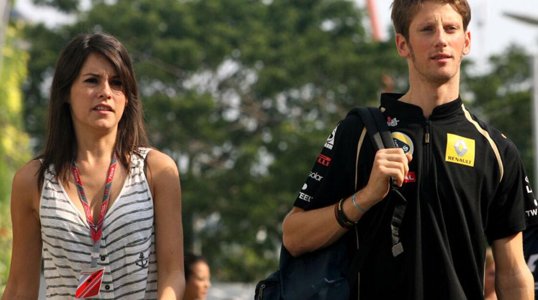 Romain Grosjean - GP Singapur - 23. September 2011