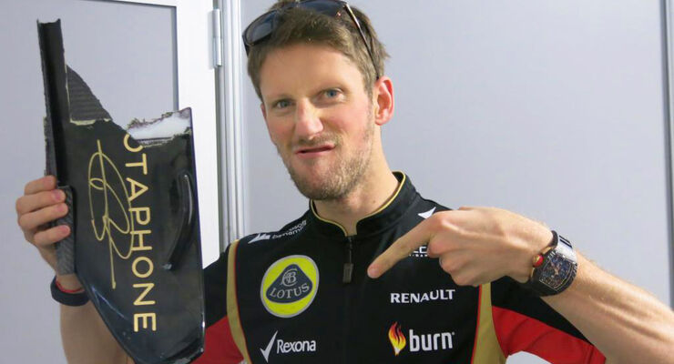Romain Grosjean - GP USA 2014