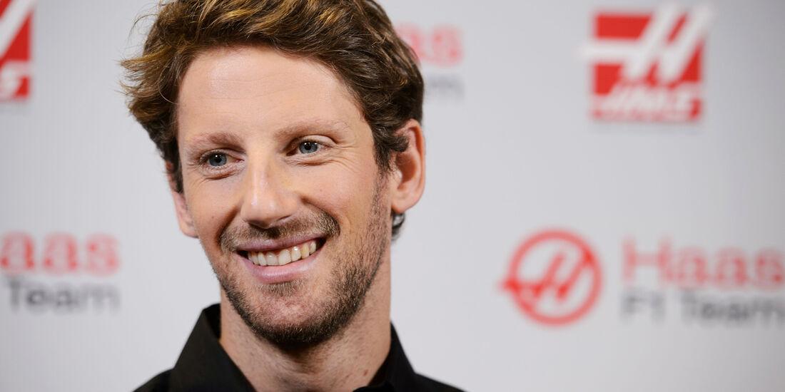 Romain Grosjean - Haas F1 - 2015