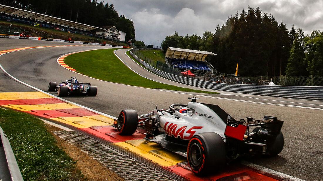 Romain Grosjean - HaasF1 - Formel 1 - GP Belgien - Spa-Francorchamps - 25. August 2018