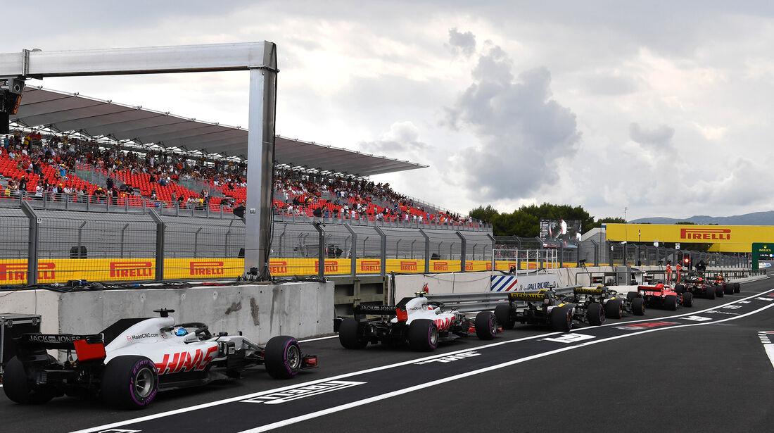 Romain Grosjean - HaasF1 - Formel 1 - GP Frankreich - Circuit Paul Ricard - Le Castellet - 23. Juni 2018