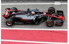 Romain Grosjean - HaasF1 - Formel 1 - Test - Barcelona - 8. März 2017