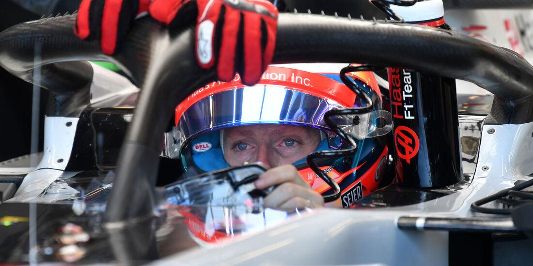 Romain Grosjean - HaasF1 - GP Australien 2018 - Melbourne - Albert Park - Freitag - 23.3.2018