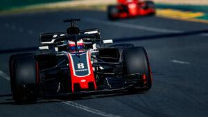 Romain Grosjean - HaasF1 - GP Australien 2018 - Melbourne