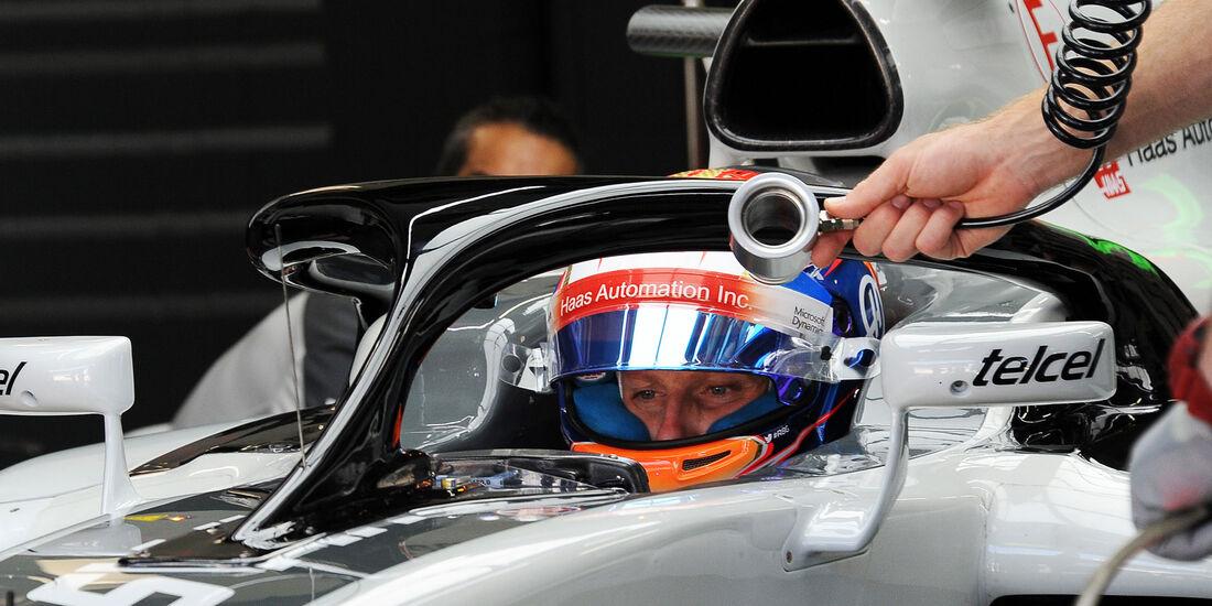 Romain Grosjean - HaasF1 - GP Brasilien - Interlagos - Freitag - 11.11.2016