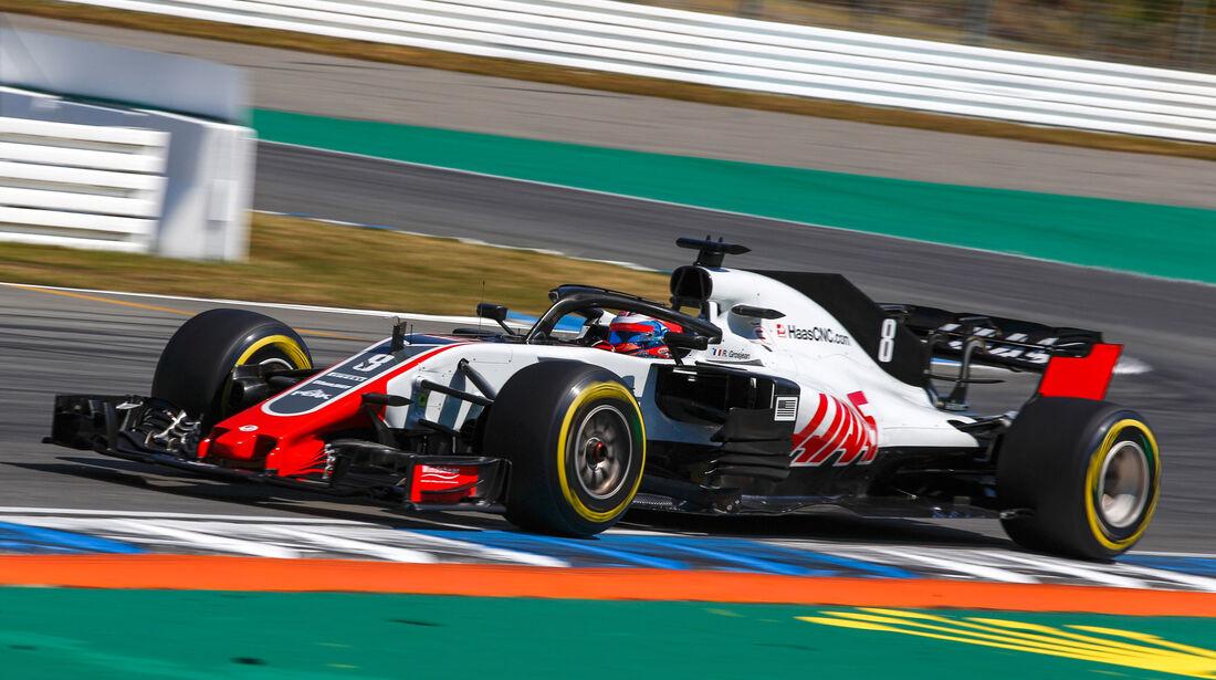 Romain Grosjean - HaasF1 - GP Deutschland - Hockenheim - Formel 1 - Freitag - 20.7.2018
