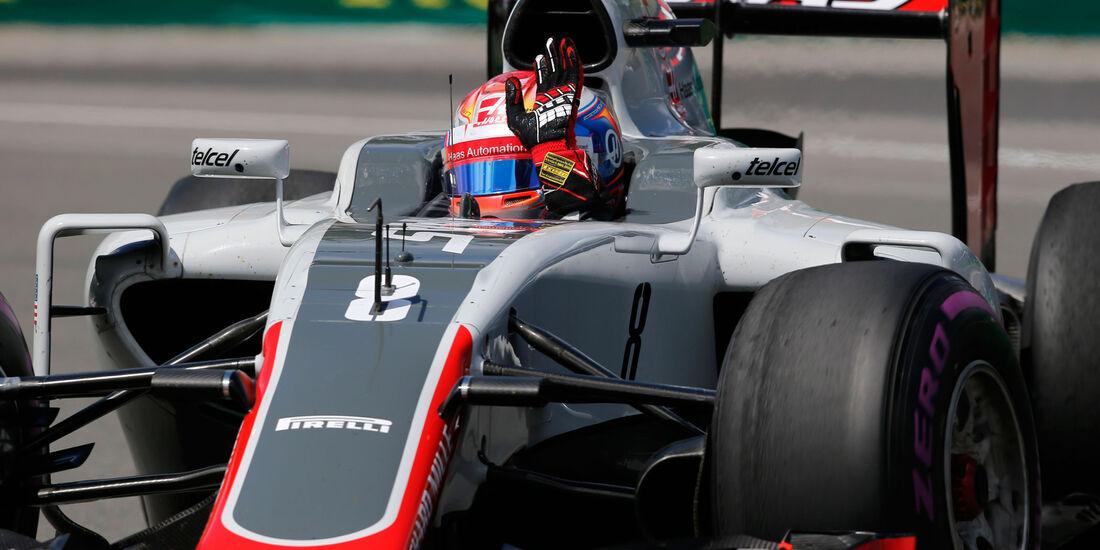 Romain Grosjean - HaasF1 - GP Kanada - Montreal - Freitag - 10.6.2016