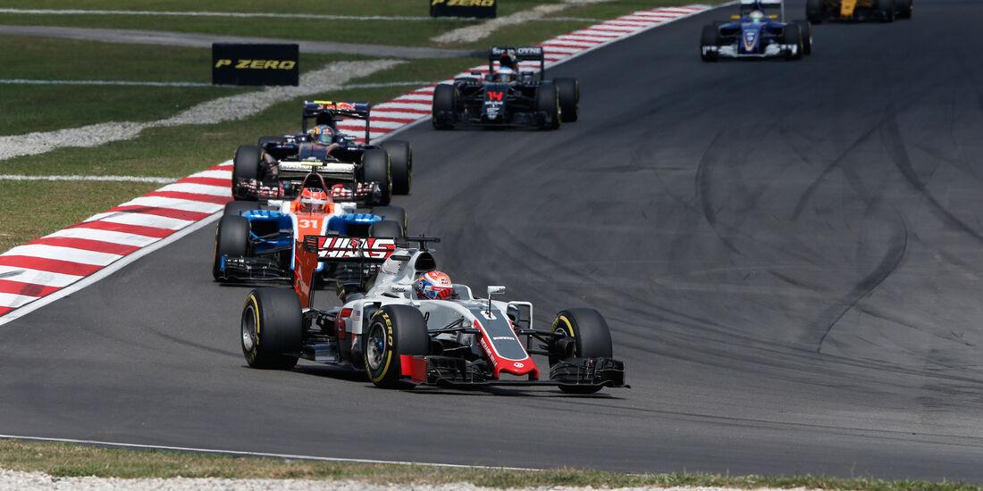 Romain Grosjean - HaasF1 - GP Malaysia 2016 - Sepang