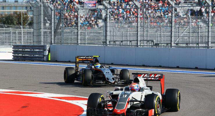 Romain Grosjean - HaasF1 - GP Russland 2016