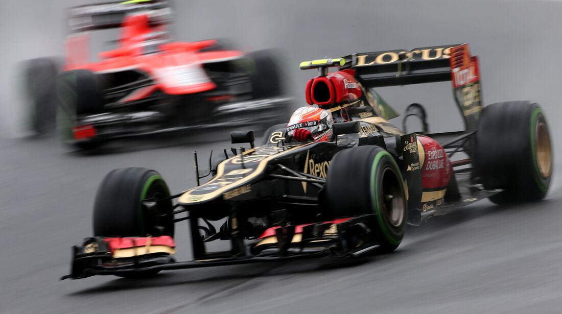 Romain Grosjean - Lotus - Formel 1 - GP Brasilien - 22. November 2013