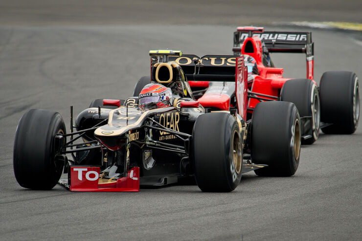 Romain Grosjean - Lotus - Formel 1 - GP Brasilien - Sao Paulo - 24. November 2012