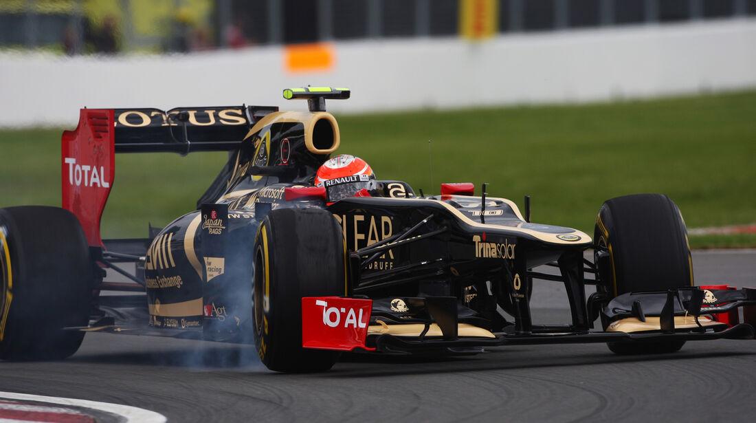 Romain Grosjean - Lotus - Formel 1 - GP Kanada - 8. Juni 2012