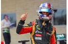 Romain Grosjean - Lotus - Formel 1 - GP USA - 16. November 2013
