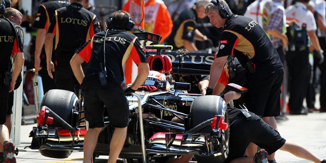 Romain Grosjean - Lotus - Formel 1 - GP Ungarn - 27. Juli 2013