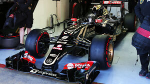 Romain Grosjean - Lotus - Formel 1-Test - Barcelona - 22. Februar 2015