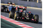 Romain Grosjean - Lotus - Formel 1-Test - Barcelona - 28. Februar 2015