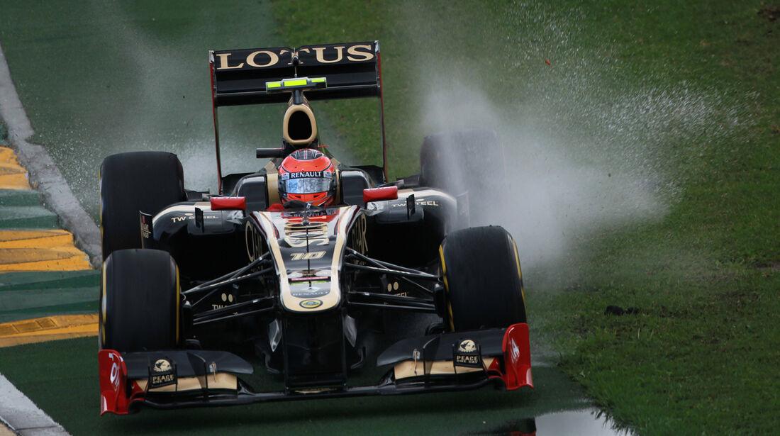 Romain Grosjean Lotus GP Australien 2012