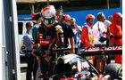 Romain Grosjean - Lotus - GP Italien - Monza - Qualifying - 5.9.2015
