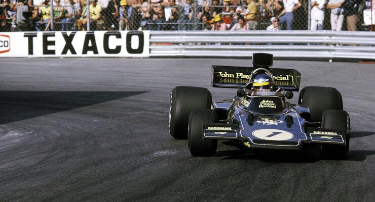 Ronnie Peterson - Lotus 72 - Monaco 1974