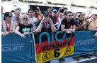 Rosberg-Fans - Formel 1 - GP Abu Dhabi - 24. November 2016