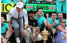 Rosberg & Hamilton - GP England 2015