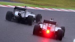 Rosberg & Hamilton - GP Japan 2014