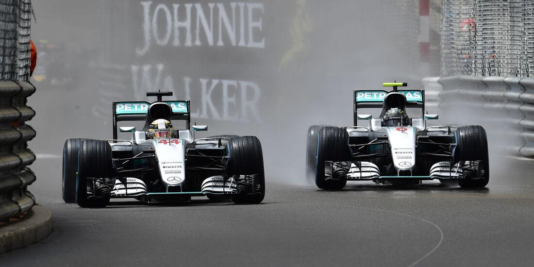 Rosberg & Hamilton - GP Monaco 2016