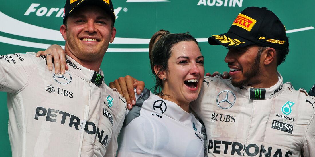 Rosberg & Hamilton - GP USA 2016