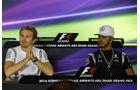 Rosberg & Hamilton - Mercedes - Formel 1 - GP Abu Dhabi - 24. November 2016