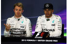 Rosberg - Hamilton - Mercedes - GP England - Silverstone - Qualifying - Samstag - 4.7.2015