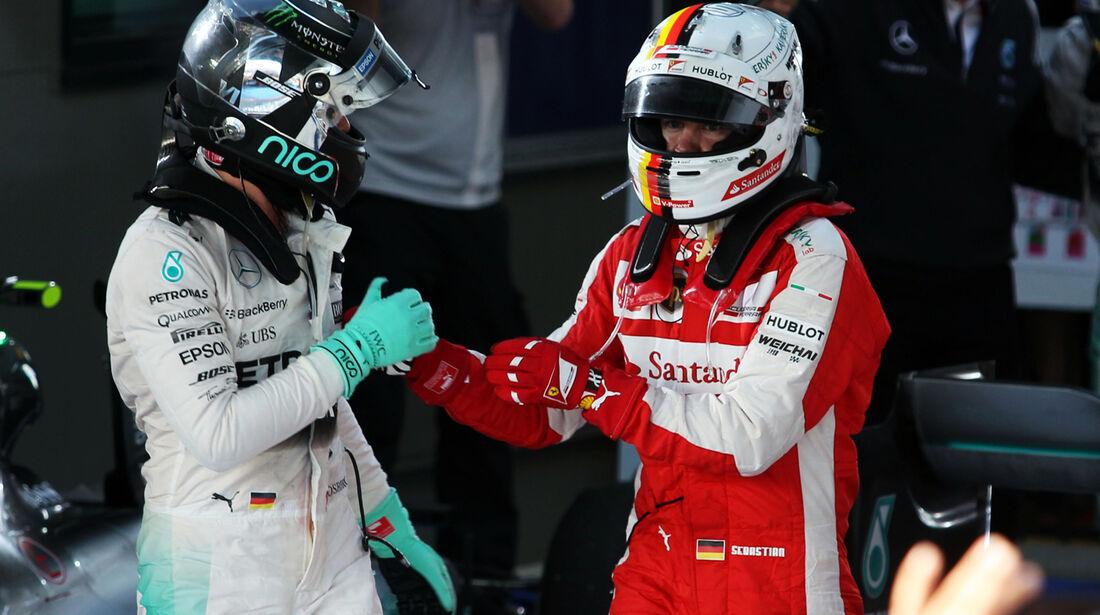 Rosberg & Vettel - Formel 1 - GP Australien 2015