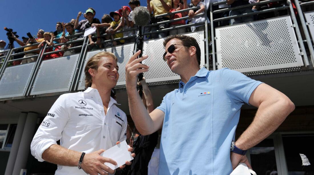 Rosberg und Bierhoff