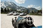 Rossfeldrennen, Bugatti T37, Lenkrad, Cockpit