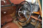 Rover P5B, Cockpit, Lenkrad
