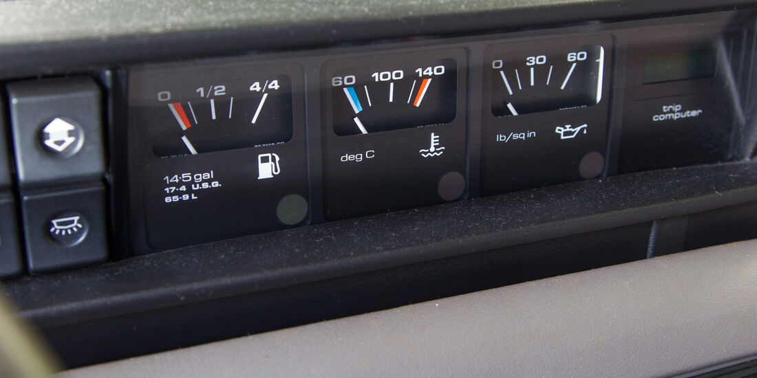 Rover Vitesse (SD1), Bedienelemente