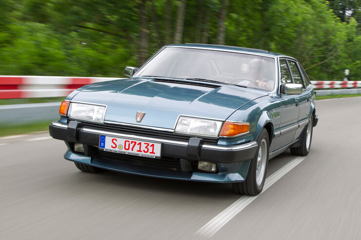 Rover Vitesse (SD1), Frontansicht