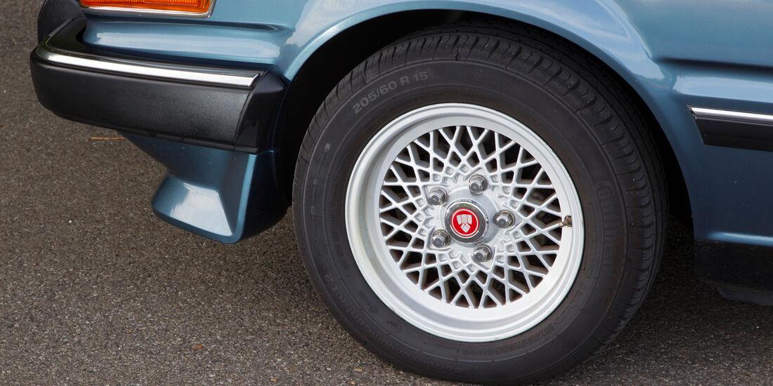 Rover Vitesse (SD1), Rad, Felge