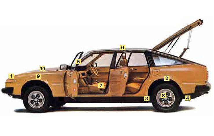 Rover Vitesse (SD1), Schwachstellen