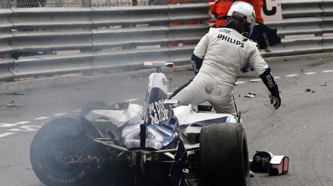 Rubens Barrichello Crash