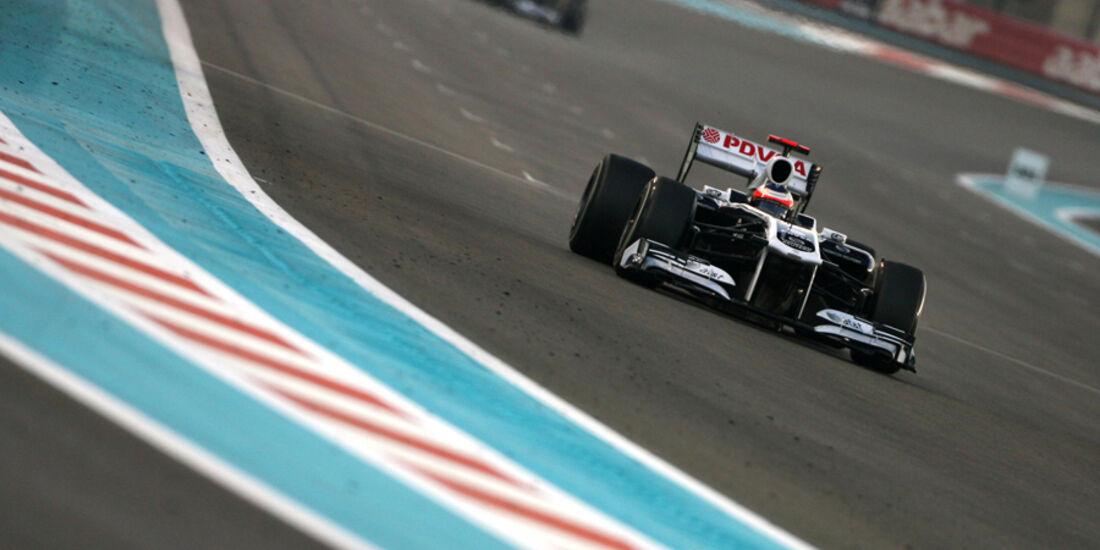 Rubens Barrichello GP Abu Dhabi 2011