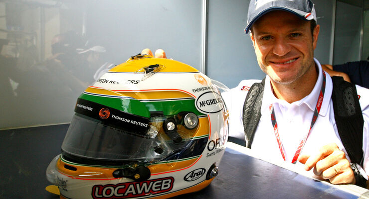 Rubens Barrichello - GP Brasilien - 26. November 2011