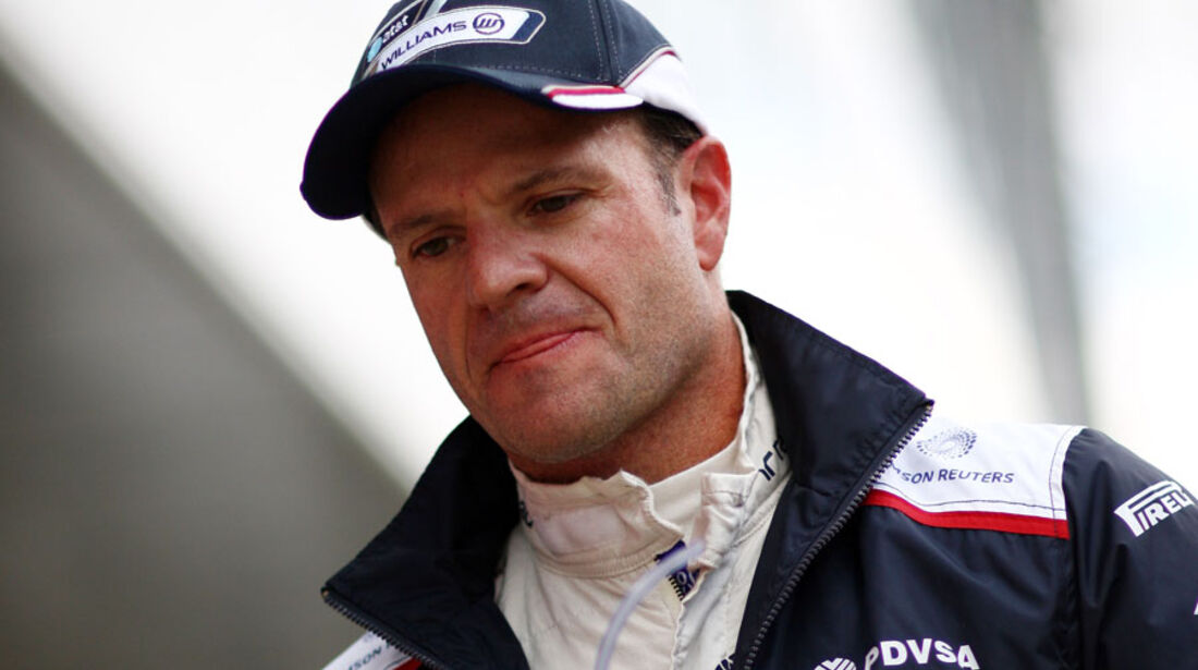 Rubens Barrichello - GP England - Qualifying - 9. Juli 2011