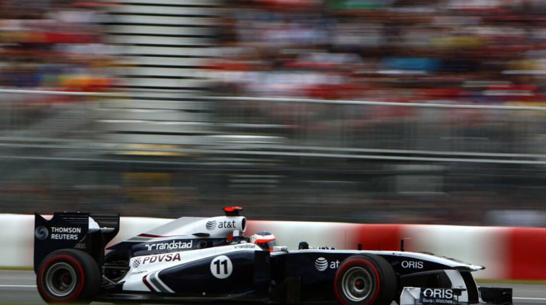 Rubens Barrichello GP Kanada 2011