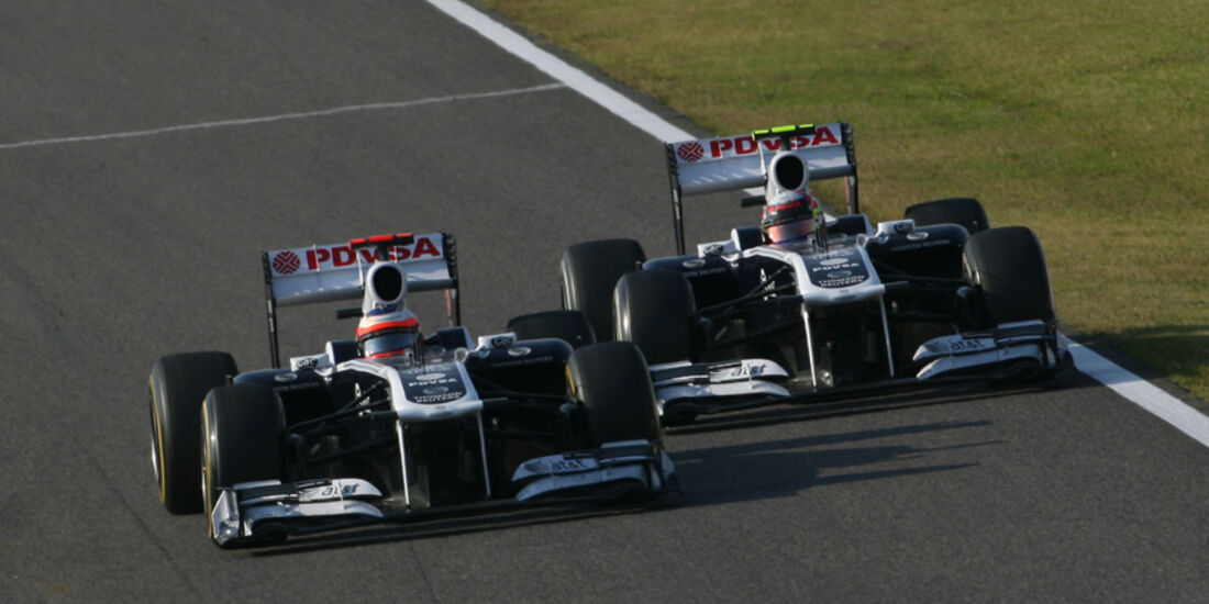 Rubens Barrichello GP Korea 2011