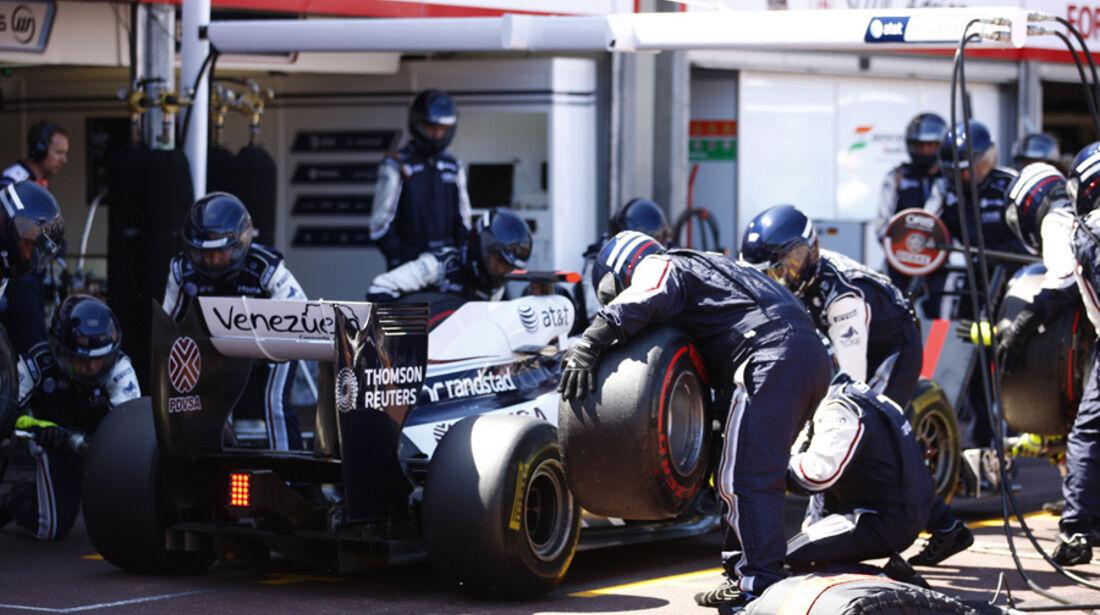 Rubens Barrichello GP Monaco 2011