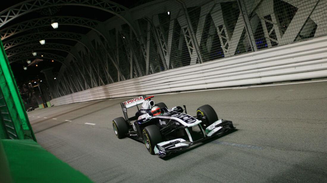 Rubens Barrichello GP Singapur 2011