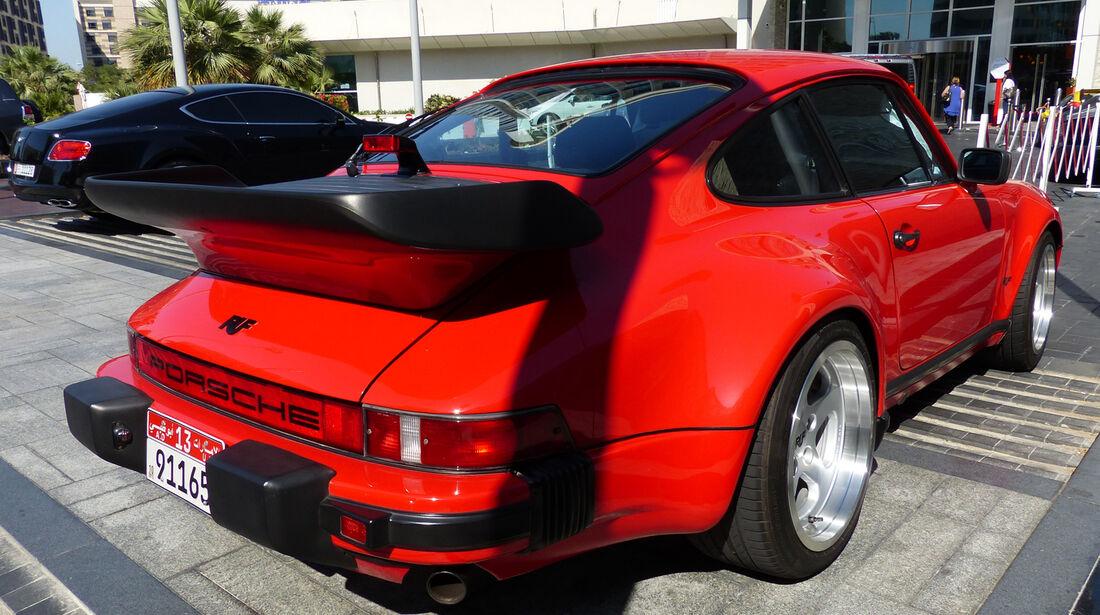 Ruf Porsche - F1 Abu Dhabi 2014 - Carspotting