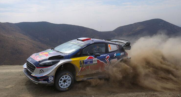 Sébastien Ogier - Ford Fiesta WRC - Rallye Mexiko 2017 - WRC