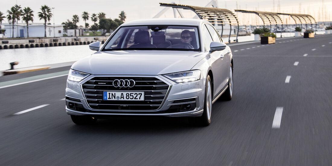 SPERRFRIST 06.10.2017 / 00.01 Uhr Audi A8 (D5) 2017 Fahrbericht